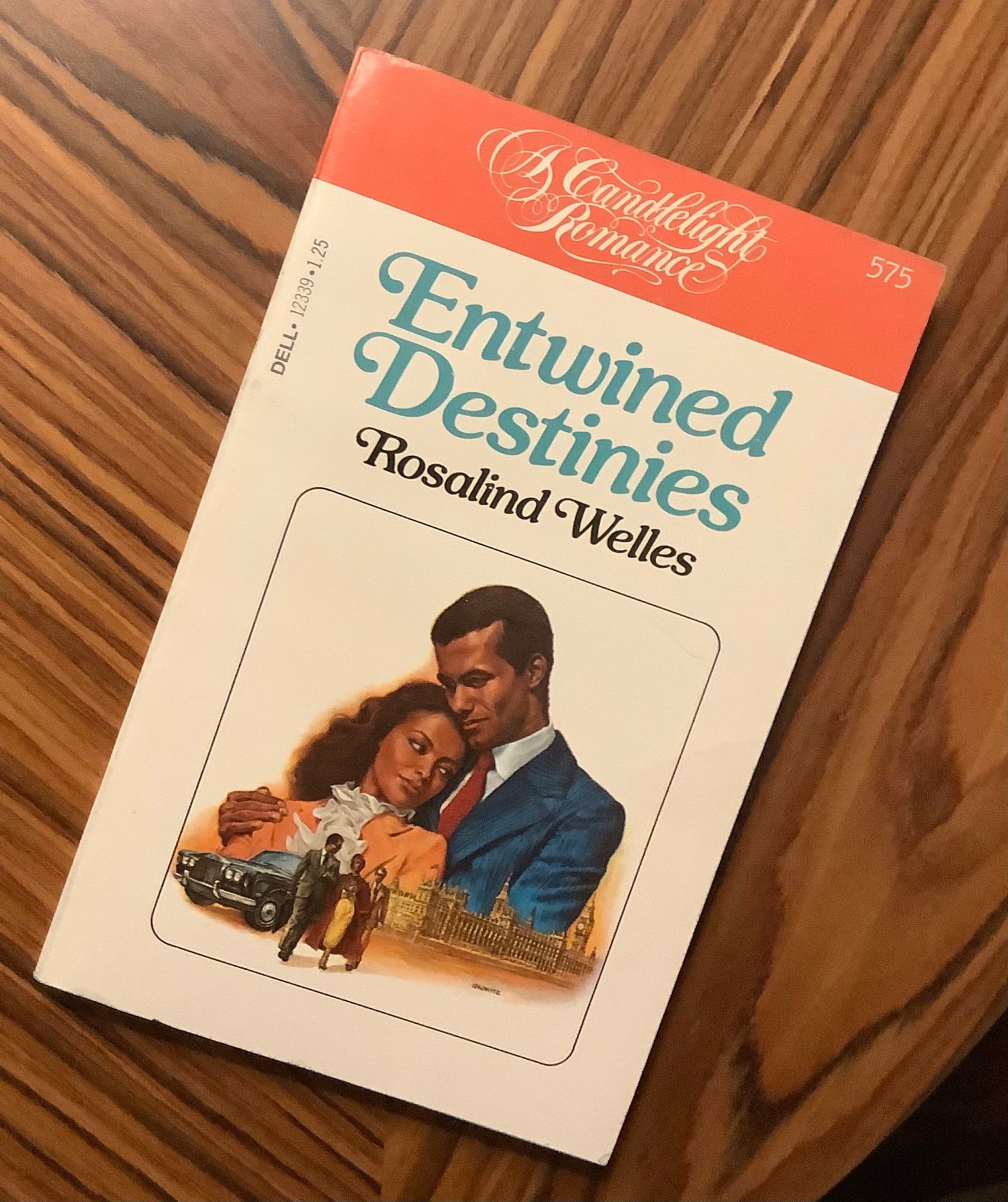 Cover of Entwined Destinies by Rosalind Welles (1980).
